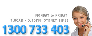 Call us on 1300 733 403